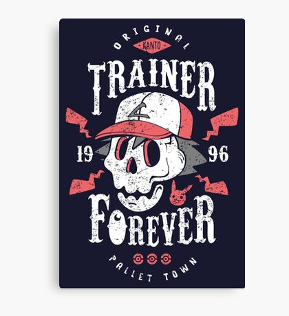 Trainer Forever Canvas Print