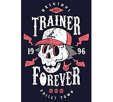 Trainer Forever Photographic Print