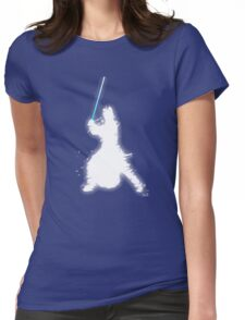 Knight light side Womens Fitted T-Shirt