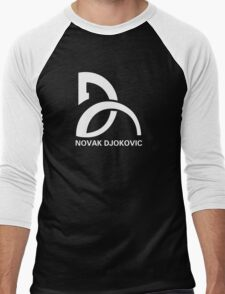 Novak Djokovic Logo Men's Baseball ¾ T-Shirt