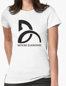 Novak Djokovic Logo Womens Fitted T-Shirt