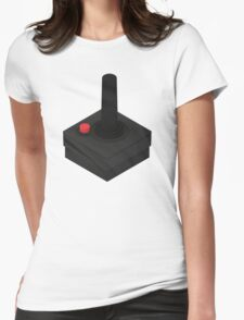 Atari 2600 Controller - Isometric Womens Fitted T-Shirt