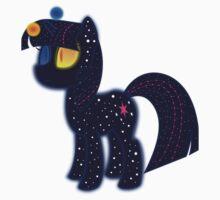 My cute pony. Little night horse. One Piece - Short Sleeve