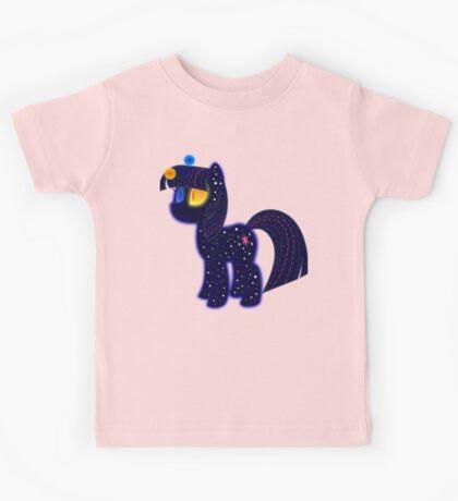 My cute pony. Little night horse. Kids Tee