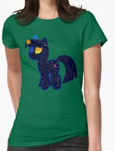 My cute pony. Little night horse. Womens Fitted T-Shirt