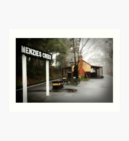 Menzies Creek Art Print