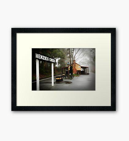 Menzies Creek Framed Print