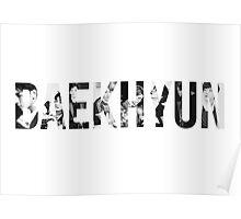 EXO - Baekhyun  Poster
