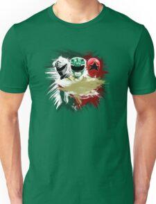 Tommy - White, Green & Red Ranger Unisex T-Shirt