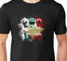 Tommy - White, Green & Red Ranger Unisex T-Shirt