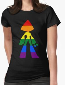 Peridot Pride Womens Fitted T-Shirt