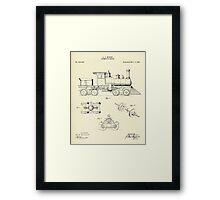 Locomotive Engine-1891 Framed Print