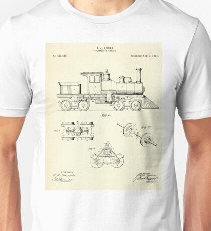 Locomotive Engine-1891 Unisex T-Shirt