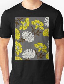 Poppy Yellow and White Flower Unisex T-Shirt