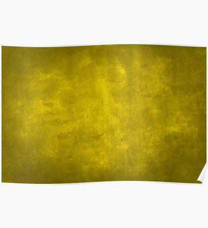 vintage design background  gold texture Poster