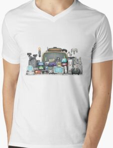 Happy Gaming Mens V-Neck T-Shirt