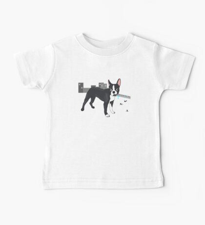 Attack of the Colossal Boston Terrier!!! Baby Tee