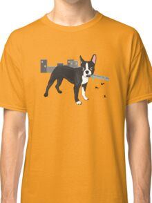 Attack of the Colossal Boston Terrier!!! Classic T-Shirt
