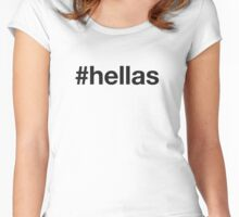 HELLAS Women's Fitted Scoop T-Shirt