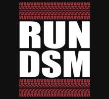 RUN DSM tire tread One Piece - Short Sleeve