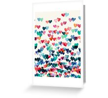 Heart Connections - Watercolor Painting Greeting Card