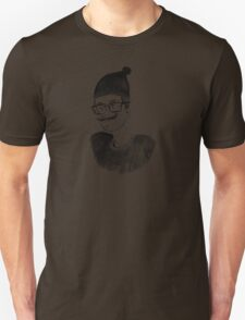 Hipster in the Winter T-Shirt