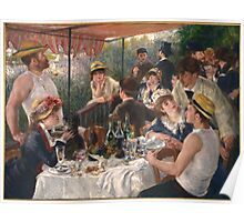 Auguste Renoir - Luncheon of the Boating Party 1880-1881 Poster