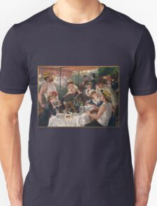 Auguste Renoir - Luncheon of the Boating Party 1880-1881 T-Shirt