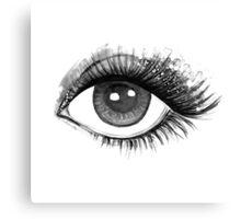 woman eye Canvas Print