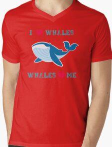 I love whales,whales loves me Mens V-Neck T-Shirt