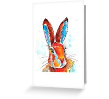 Hare 37 Greeting Card
