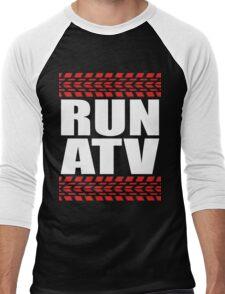 RUN ATV tread Men's Baseball ¾ T-Shirt