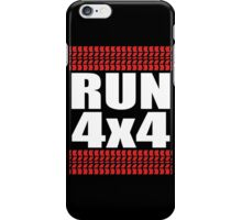 RUN 4x4 tread iPhone Case/Skin