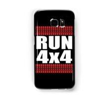 RUN 4x4 tread Samsung Galaxy Case/Skin