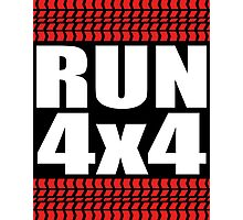 RUN 4x4 tread Photographic Print