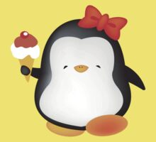 Ice cream penguin Kids Tee