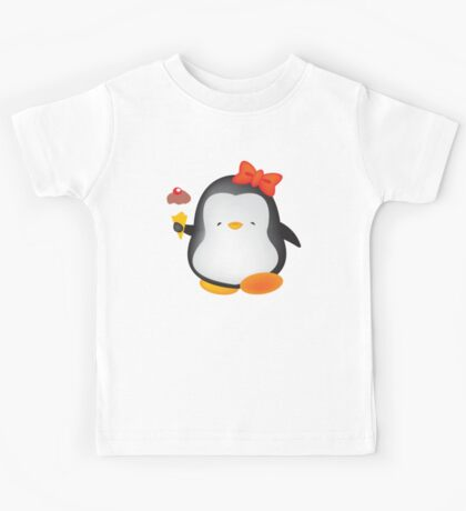 Ice cream penguin Kids Tee