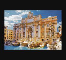 Souvenir from Rome - Trevi's fountain Kids Tee