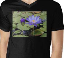 """Water Lillies"" Mens V-Neck T-Shirt"