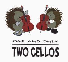 two cellos Kids Tee