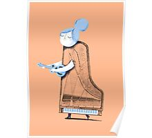 Lady in G Major Poster