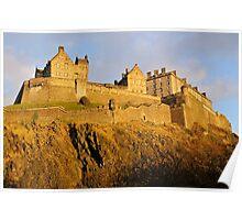 Edinburgh  Castle, Scotland, UK, Poster
