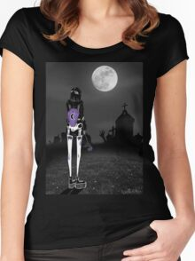 Cemetery girl Women's Fitted Scoop T-Shirt