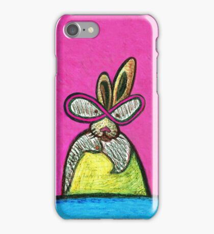 Bunny on a Mission iPhone Case/Skin