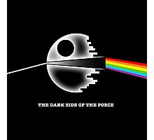 The dark side of the force Photographic Print
