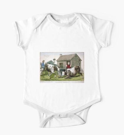 Corned beef - 1856 - Currier & Ives One Piece - Short Sleeve