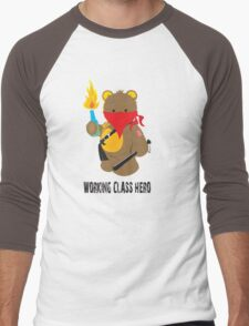working class hero Men's Baseball ¾ T-Shirt