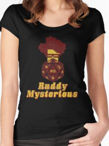 Ruddy Mysterious  Women's Fitted Scoop T-Shirt