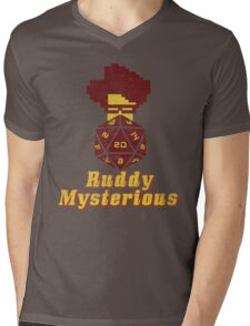 Ruddy Mysterious  Mens V-Neck T-Shirt
