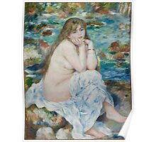 Auguste Renoir - Seated Bather . 1883 - 1884 Poster